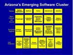 arizona s emerging software cluster