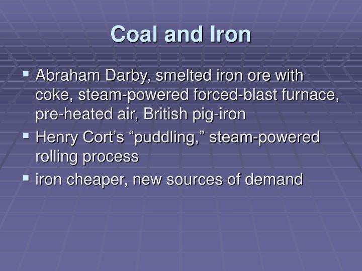 Coal and Iron