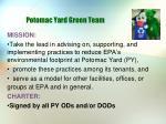 potomac yard green team