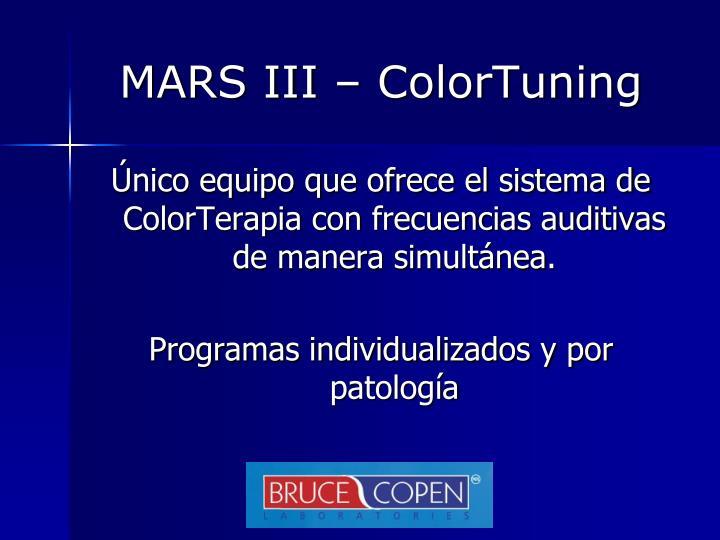 MARS III –