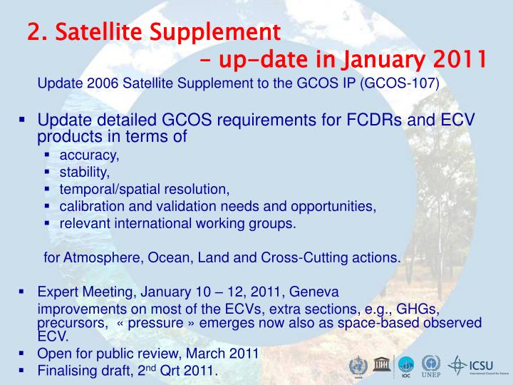 2. Satellite Supplement