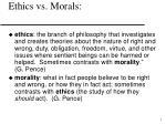 ethics vs morals1