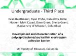 undergraduate third place