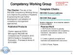 competency working group