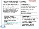 geoss challenge team wg