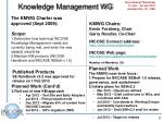 knowledge management wg