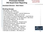 processes domain wg quad chart reporting