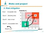 risks and project2