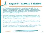 subject n 1 gazpram exxoun