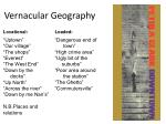 vernacular geography