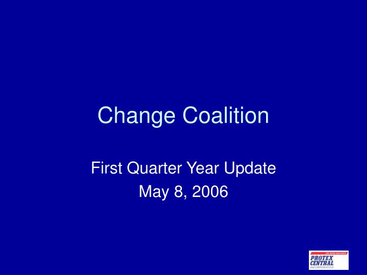 change coalition n.