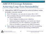 ahcccs coverage solutions achieving long term sustainability1