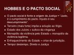 hobbes e o pacto social