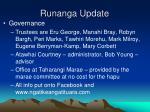 runanga update
