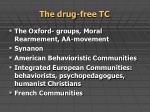 the drug free tc