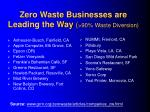 zero waste businesses are leading the way 90 waste diversion