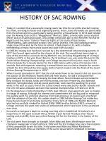 history of sac rowing1
