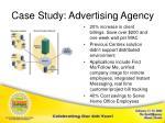 case study advertising agency