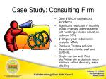 case study consulting firm