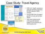 case study travel agency