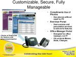 customizable secure fully manageable