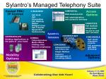 sylantro s managed telephony suite