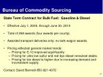 bureau of commodity sourcing1