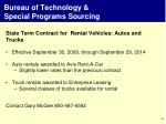 bureau of technology special programs sourcing4