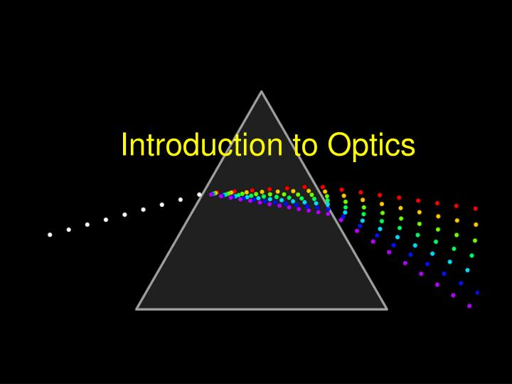 introduction to optics n.