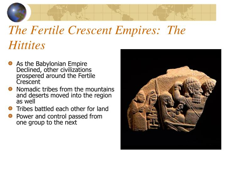 the fertile crescent empires the hittites n.