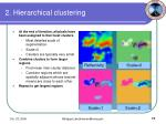 2 hierarchical clustering