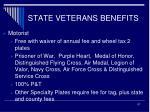 state veterans benefits7