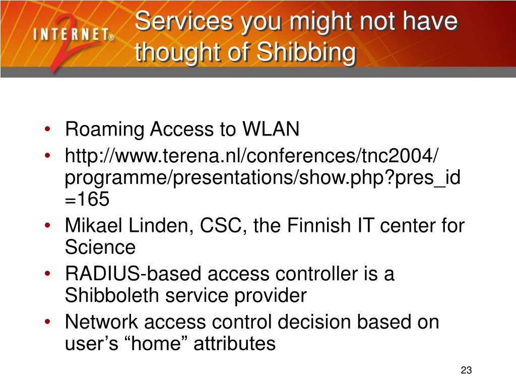 Services you might not have thought of Shibbing
