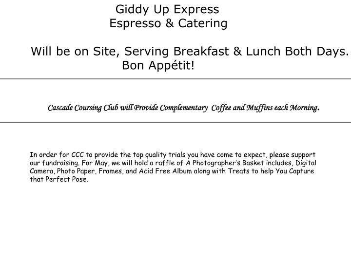 Giddy Up Express