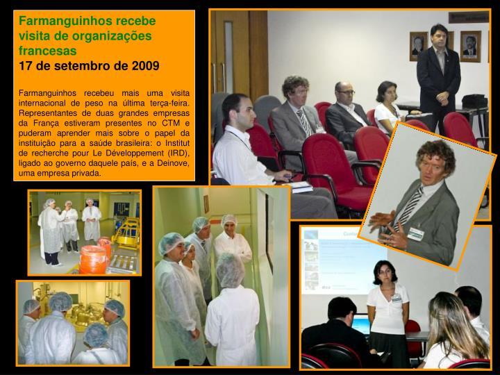 Farmanguinhos recebe visita de organizações francesas