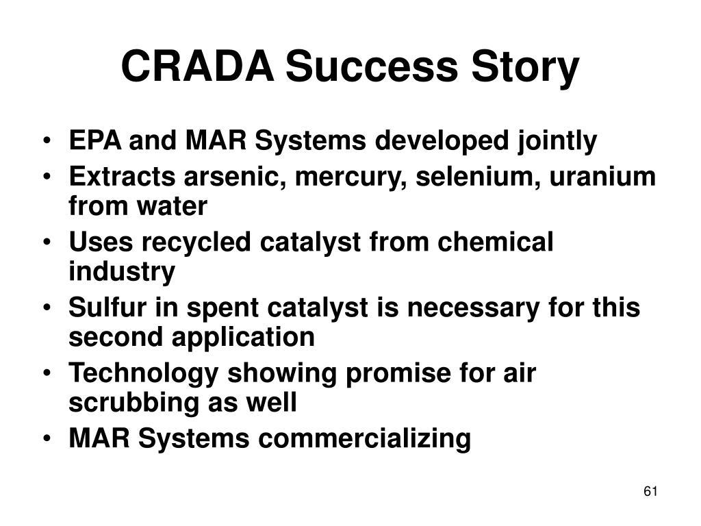 CRADA Success Story