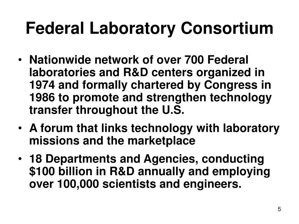 Federal Laboratory Consortium