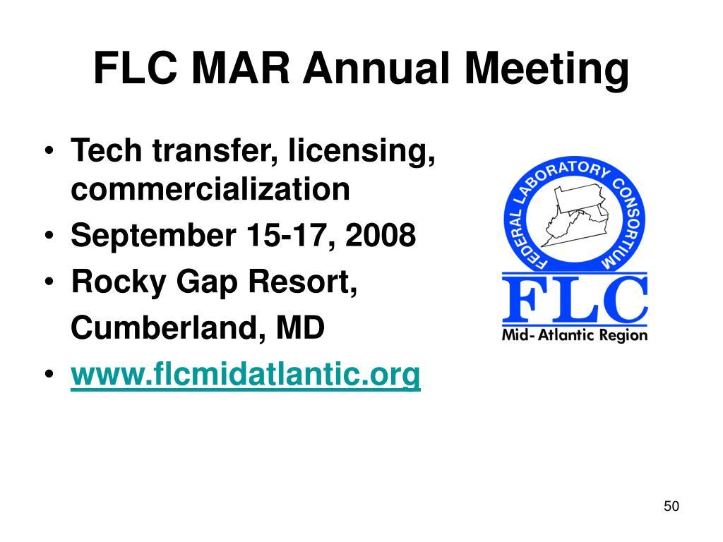 FLC MAR Annual Meeting