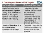 1 coaching and games 2011 targets1
