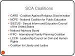 sca coalitions