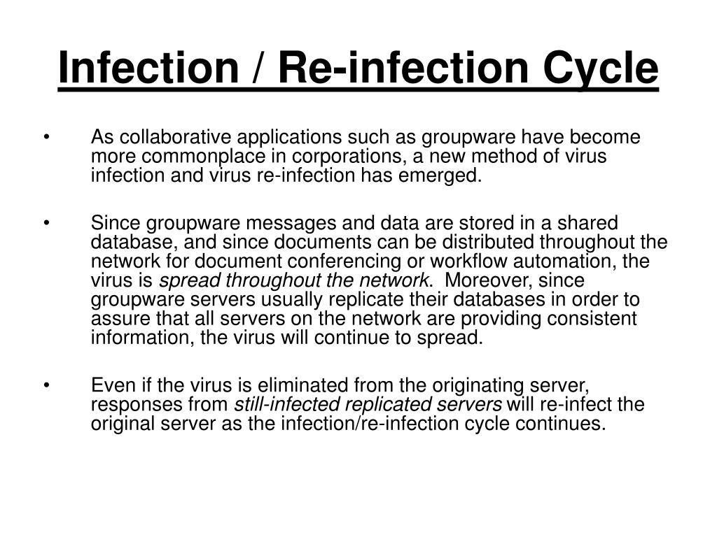 Infection / Re-infection Cycle