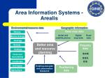 area information systems arealis