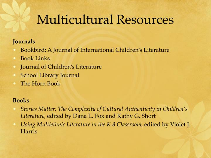 Multicultural Resources