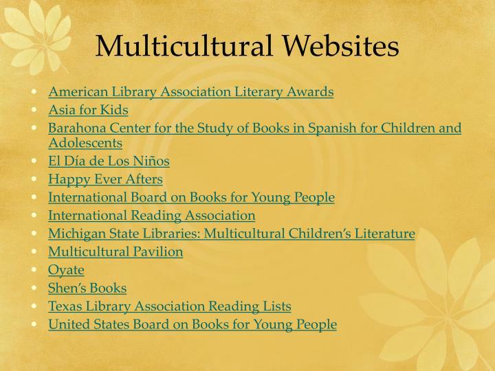 Multicultural Websites