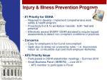 injury illness prevention program
