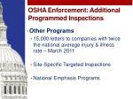 osha enforcement additional programmed inspections