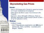skyrocketing gas prices