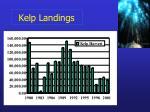 kelp landings