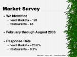 market survey1