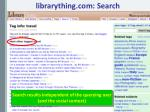 librarything com search